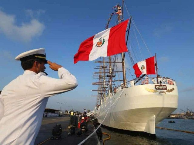 """Unión"" set sails again from Callao"