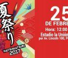 The Japneses summer festival Natsu Matsuri is celebrated in Lima this weekend