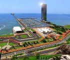 This it how the new cruise terminal in Miraflores, Lima should look like after being finished in 2021