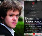 British pianist Benjamin Grosvenor shows his exceptional and extraordinary talent at a concert in Lima