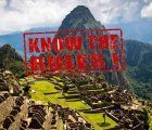 Know the rules to enter Machu Picchu, how to behave during your visit and what items you aren't allowed to bring with you