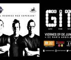 Argentine rock band GIT stops in Lima on their South America Tour