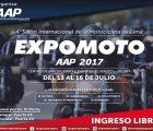 4th International Motorcycle Show - Expomoto AAP 2017 in Lima, Peru