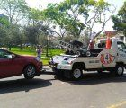 The municipality of San Isidro, Lima started to tow wrong or illegal parked vehicles; photo: Municipality of San Isidro
