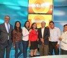 The team of Ñuqanchik, Peru's first all Quechua speaking news program, broadcasted today for the first time; photo: Andina