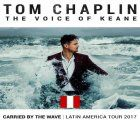 """Tom Chaplin, the voice of Keane, returns to Lima as part of his """"Carried by the Wave"""" Tour 2017"""