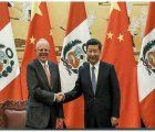 Perus president Pedro Pablo Kuczynski and Chines president Xi meeting in China september 2016 - Image (c) & courtesy of gestion.pe
