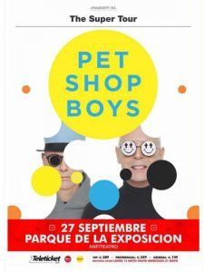 Pet Shop Boys in Lima 2017 as part of their Super Tour