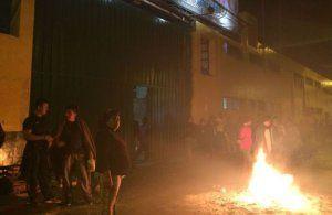 Violent clashes foiled closure of market Fruit Market (Mercado de frutas) - Picture: América Noticias
