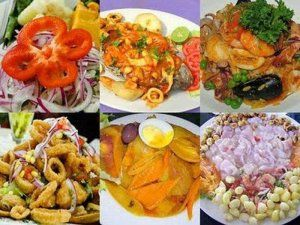 Typical dishes from the northern Peruvian Lambayeque region; photo: Paul, the blogger