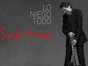 Joaquin Sabina presents his latest album Lo Niego Todo to his fans in Lima