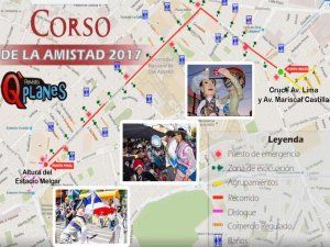 Arequipa celebrates its 477 anniversary with the huge Friendship Parade 2017