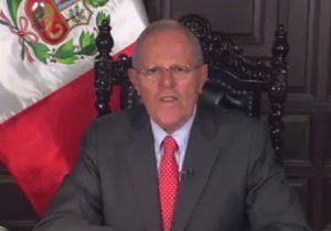 Peru's president anounces 5 measures to fight corruption