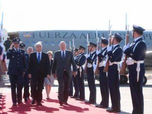 Peru's president is in Chile to enahnce relations and deepen bilateral ties
