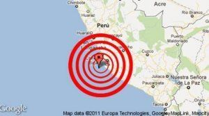 4.9 magnitude Earthquake recorded in Ica