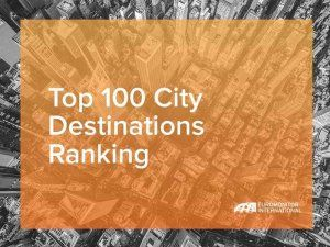 Lima reached with nearly 2,5 million international arrivals position 76 on the Top City Destinations Ranking
