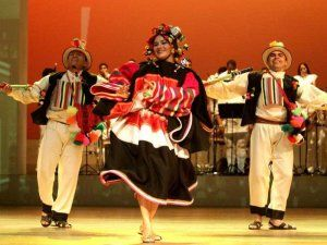 Retablo de Carnaval, a show paying homage to the celecrations of carnival in the different regions of Peru