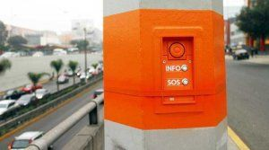 San Borja installed 20 emergency buttons in high transit areas - Photo (c) by elcomercio.pe