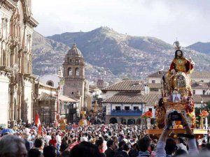 Corpus Christi celebration in Cusco, Peru; photo: andina