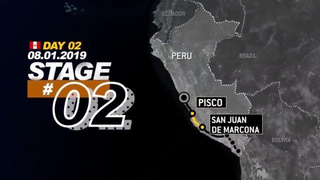 Stage 2 Dakar Rally 2019 Peru Pisco to San Juan de Marcona