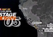 Stage 5 - Dakar Rally 2019 - Moquegua to Arequipa; Tacna to Arequipa (11.01.19)